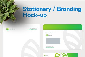 Stationery / Branding PSD Mock-Up