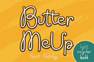 Butter Me Up Font Family