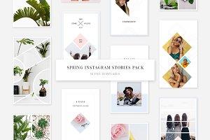 Spring Instagram Stories Pack