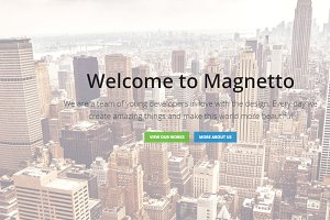 Magnetto - Onepage Parallax WordPres