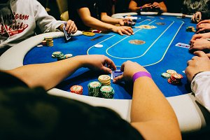 Poker player POV