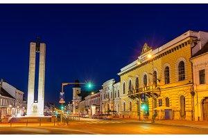 Memorandum Monument in Cluj-Napoca, Romania
