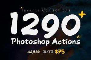 1290+ Photoshop Actions