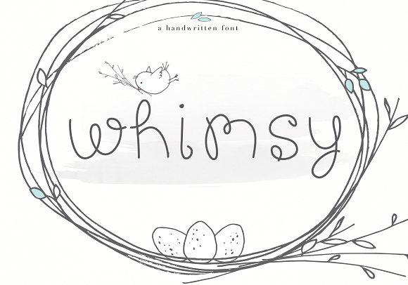 Whimsy Whimsical Handwritten Font