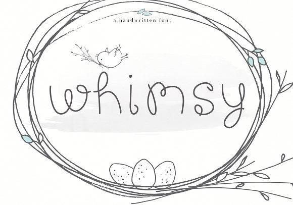 Whimsy Whimsical Handwritten Font