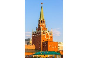 Trinity Tower of Moscow Kremlin - Russia