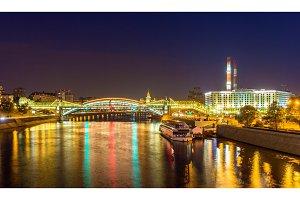 Bogdan Khmelnitsky (Kievsky) Pedestrian Bridge in Moscow