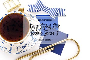 Navy Blue Styled Photo Bundle S2