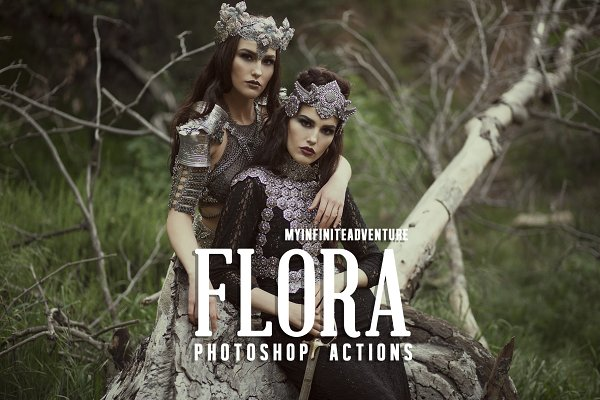 17 Flora Photoshop Actions