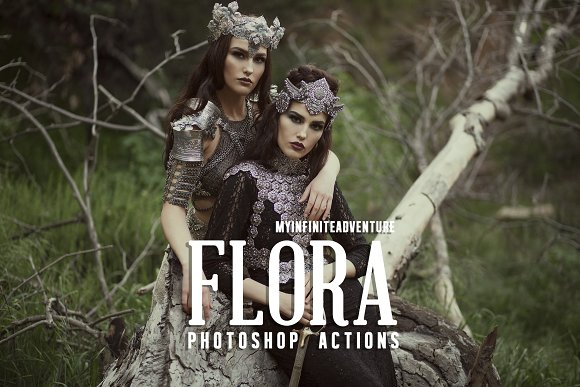 Flora Photoshop Actions