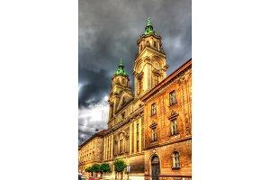 Basilica of the Sacred Heart of Jesus in Zagreb