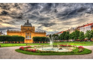 King Tomislav Square in Zagreb, Croatia