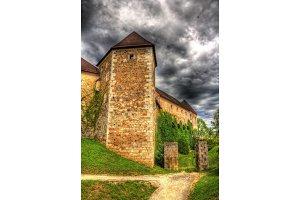 View of Ljubljana castle - Slovenia
