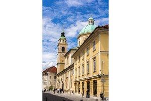 Saint Nicholas Cathedral of Ljubljana, Slovenia