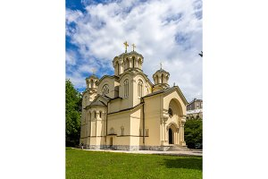 Serbian Orthodox church in Ljubljana, Slovenia