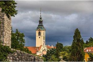 Gospe Trsatske church in Rijeka, Croatia