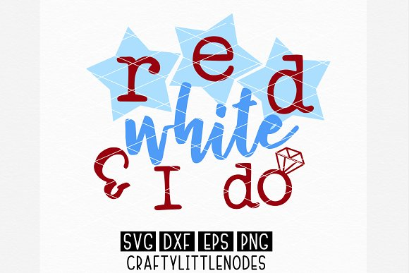 Red White I Do