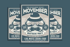 Movember Mustache Party