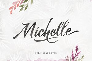 Michelle Brush Script