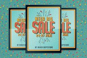 Big Sale Promotion Flyer Poster