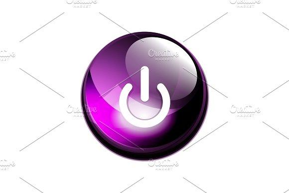 Power Button Icon Start Symbol