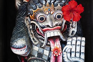 traditional Balinese spirit Ragda