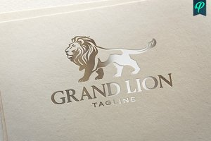 GrandLion - Luxury Logo Template
