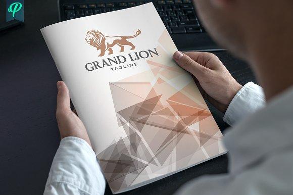 GrandLion - Luxury Logo Template