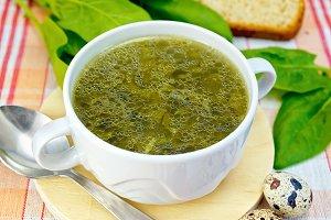 Soup of greenery
