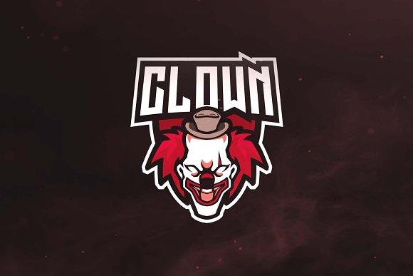 Clown Sport And Esports Logo
