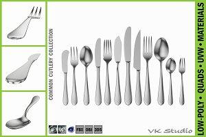 Common Cutlery Set 12 Pieces