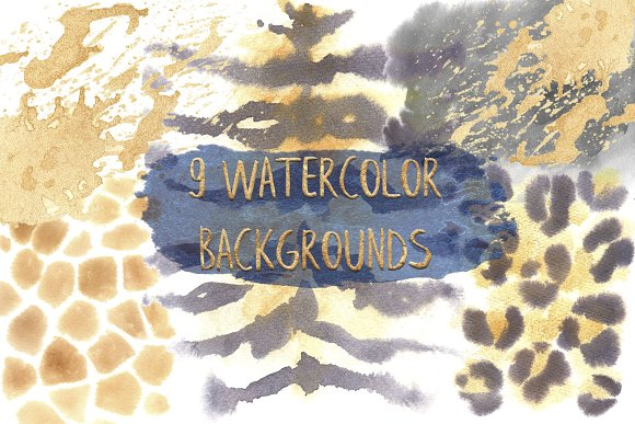 -30% Mimicry Watercolor Collection in Illustrations - product preview 2