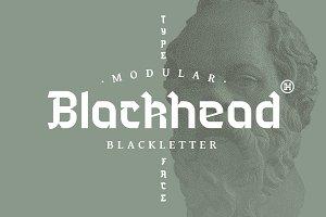 Blackhead Typeface