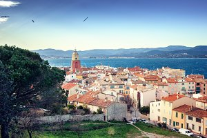 View of Saint-Tropez