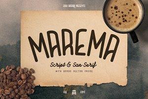 Maréma Typeface Duo