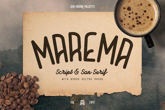 Marema Typeface Duo