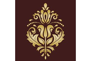 Elegant Vector Ornament in Classic Style