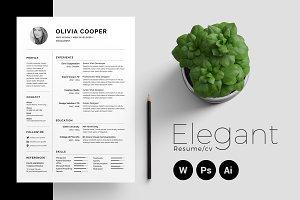 Resume/CV - Elegant