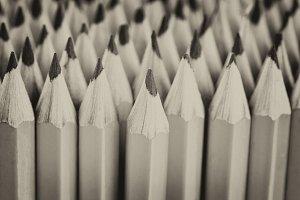 Vintage style pencils