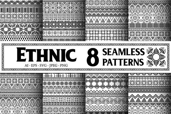 8 Ethnic Seamless