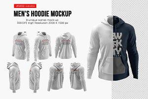 Men's Hoodie Mockups
