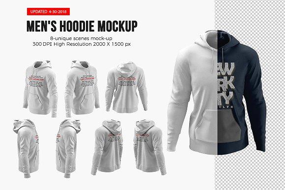 Download Men's Hoodie Mockups