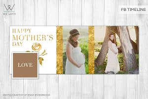Happy Mother's day FB cover