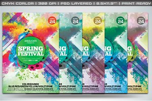 Spring Sounds Flyer Template