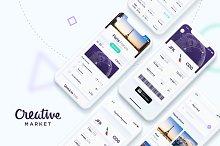Luxury Flights App UI