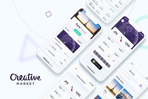 Luxury Flights App UI