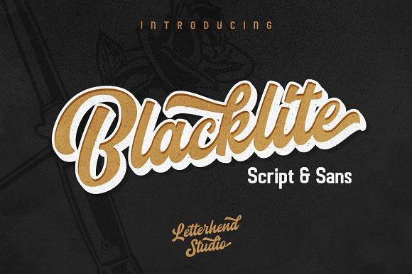 Blacklite The Bold Script Sans