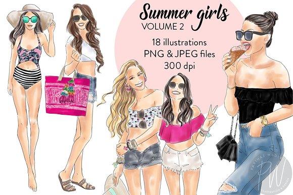Summer Girls Volume 2