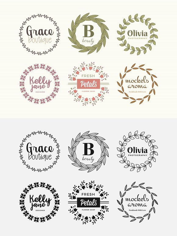 Elegant Logos Pack 1