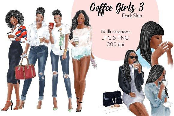 Coffee Girls 3 Dark Skin